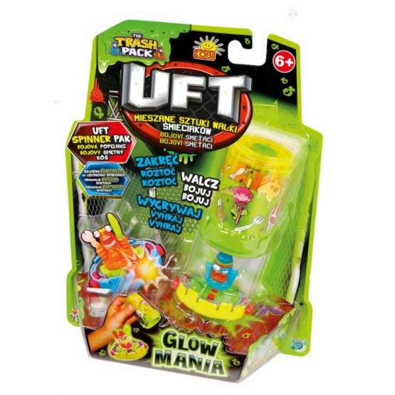 TRASH PACK UFT SPINNER PACK GLOW MANIA NOWOŚĆ