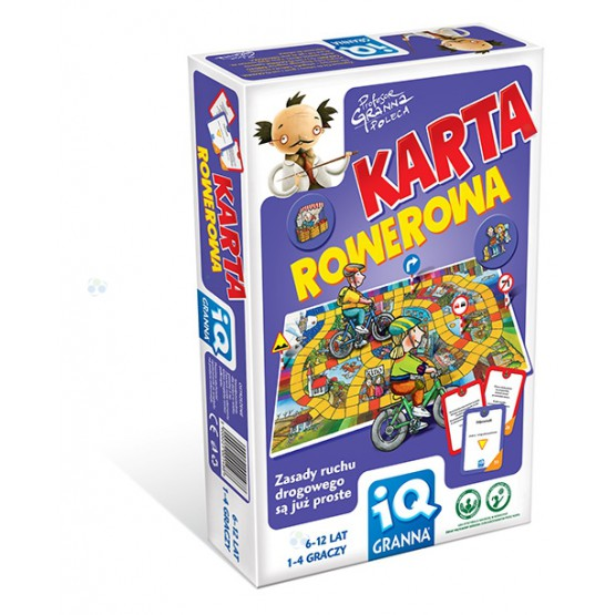 GRA EDUKACYJNA IQ KARTA ROWEROWA