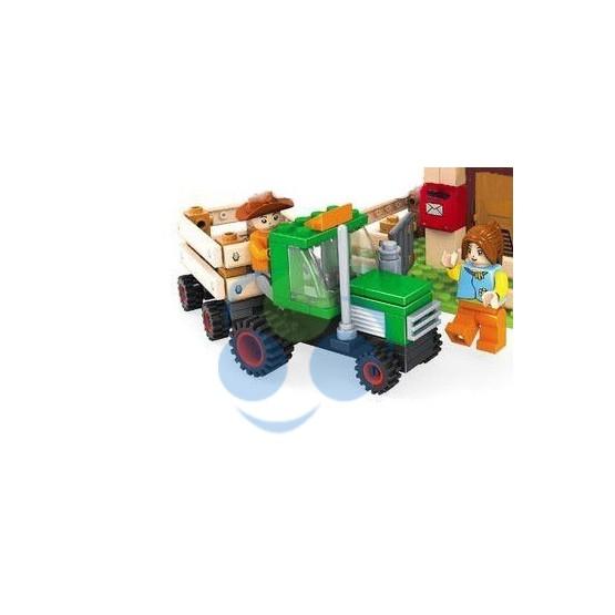 KLOCKI FARMA 28502 Dom z traktorem - 210 elementów
