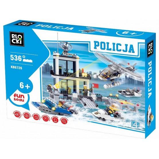 KLOCKI POSTERUNEK POLICJI MOTORÓWKA LUDZIKI 536 EL