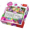 PUZZLE 48 EL WESOŁE KUCYKI MY LITTLE PONY COLOR PUZZLE TREFL