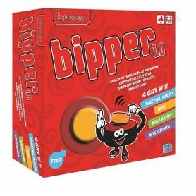 GRA TOWARZYSKA 4 w 1 BIPPER - 4 popularne gry