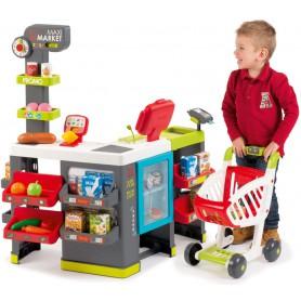 SMOBY Maximarket Z Wózkiem Supermarket