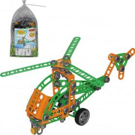 Wader QT Zestaw Wynalazca Helikopter Nr1 130 el.