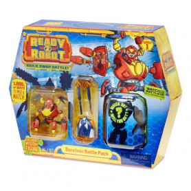 MGA Ready2Robot- Battle Pack - Survivor