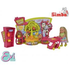 SIMBA Lalka Evi w Supermarkecie