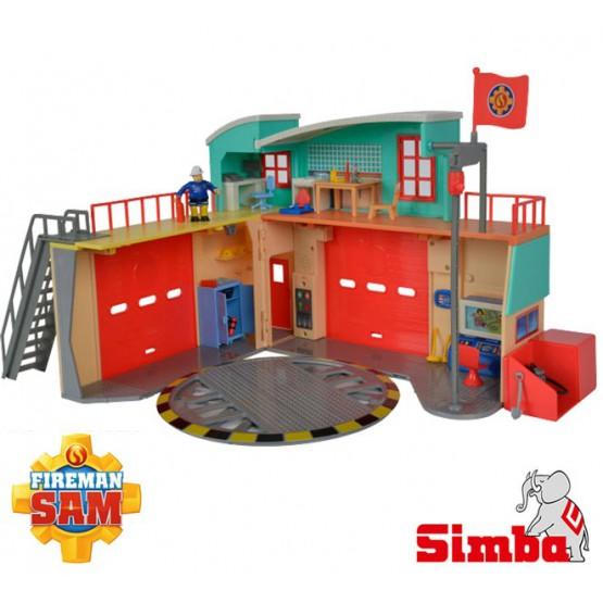 SIMBA Strażak Sam Nowa Stacja Ratunkowa Z Figurką