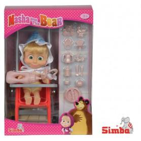 SIMBA Masza w Stroju Dziecka z Akcesoriami