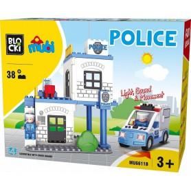 KLOCKI BLOCKI MUBI POLICJA POLICE 38 EL.