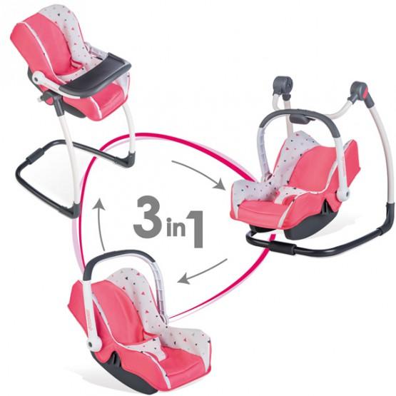 SMOBY Maxi Cosi Krzesełko Do Karmienia 3 W 1