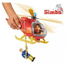 SIMBA Strażak Sam Helikopter ratowniczy+figurka