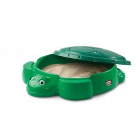 LITTLE TIKES Piaskownica Żółw z Pokrywą 8 Pack.