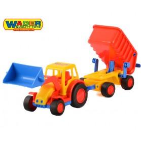Wader QT Traktor Ładowarka z Przyczepą
