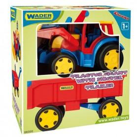Ładowarka z przyczepą 117 cm Gigant Traktor