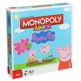 MONOPOLY JUNIOR ŚWINKA PEPPA