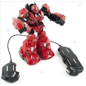 ROBOT ZDALNIE STEROWANY RC CZERWONY E1