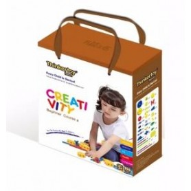 KLOCKI THINKERTOY BEGINNER COURSE 2 CREATIVITY 196 EL.