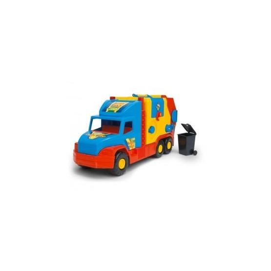 Super Truck Śmieciarka krótka WADER 36580 A1