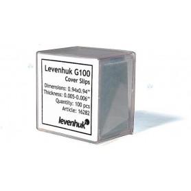 Szkiełka nakrywkowe Levenhuk G100, 100 sztuk M1