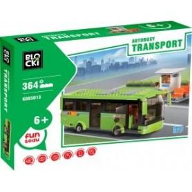 KLOCKI BLOCKI TRANSPORT - AUTOBUSY 364 EL. MEGA ZESTAW