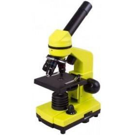 Mikroskop Levenhuk Rainbow 2L Lime\\Limonowy M1