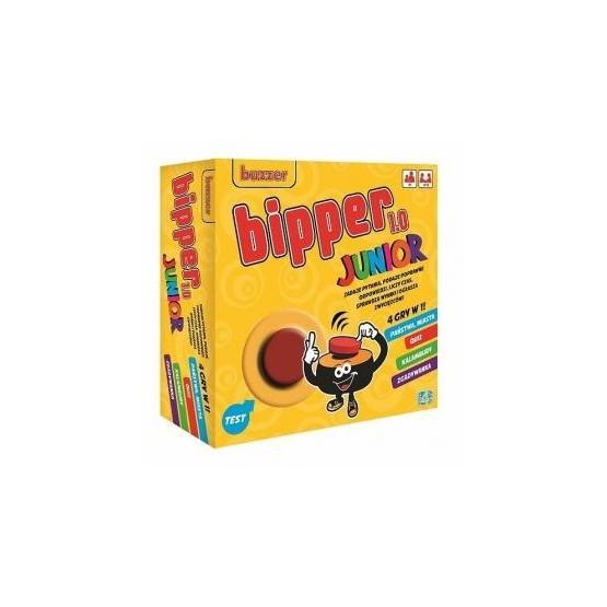BIPPER JUNIOR 4w1 cztery elektroniczne gry