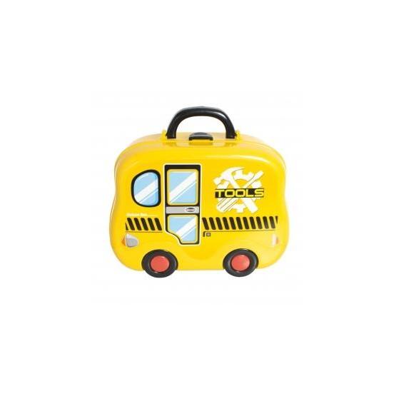 Zestaw warsztat z akcesoriami - Walizka autobus E1