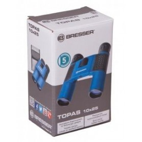 Lornetka Bresser Topas 10x25, niebieski M1
