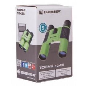 Lornetka Bresser Topas 10x25, zielony M1