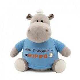 Przytulanka Hipopotam Po w bluzie Be Hippo 22cm T