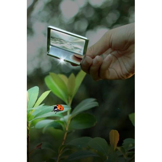Lupa Zeno 90 z soczewką Fresnela 2,5x, 48x45mm M1