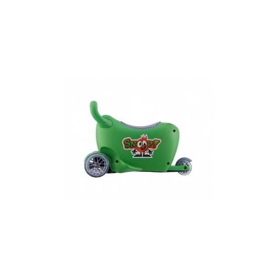 Jeździk SNOOP 3w1 green B1