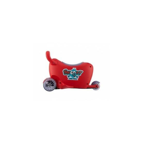 Jeździk SNOOP 3w1 red B1