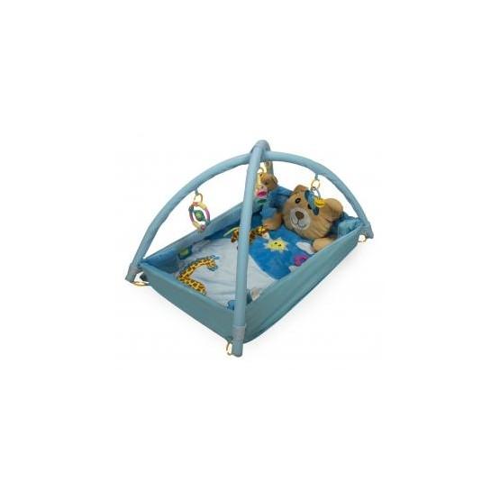 Mata Edukacyjna kojec z misiem niebieska 3 E1