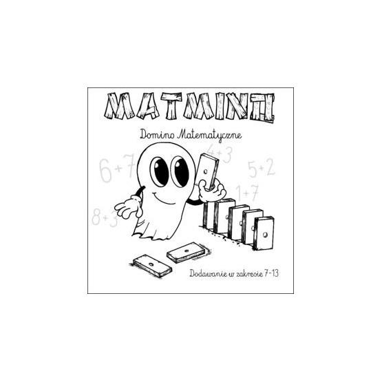 MATMINO DREWNIANE DOMINO MATEMATYCZNE 7-13 BUU POLSKI