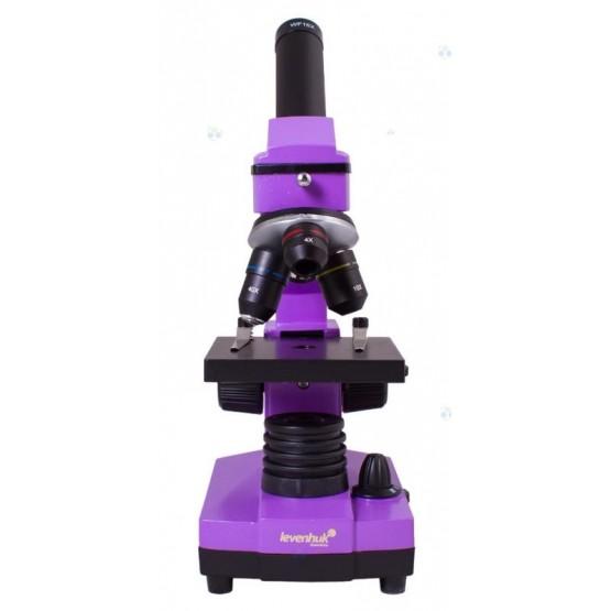 Mikroskop Levenhuk Rainbow 2L PLUS Amethyst\Fioletowy M1
