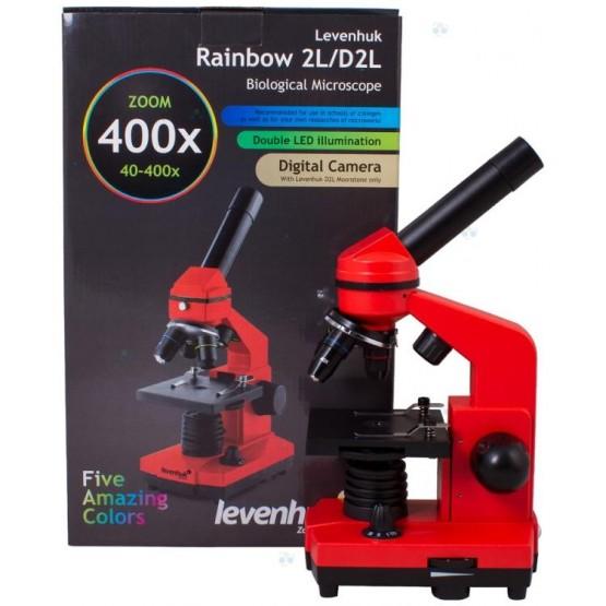 Mikroskop Levenhuk Rainbow 2L Orange\Pomarańczowy M1