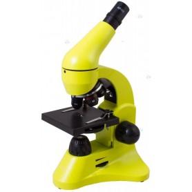 Mikroskop Levenhuk Rainbow 50L Lime\\Limonowy M1