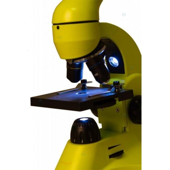 Mikroskop Levenhuk Rainbow 50L Lime\Limonowy M1