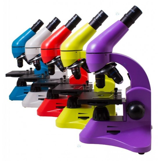 Mikroskop Levenhuk Rainbow 50L Amethyst\Fioletowy M1