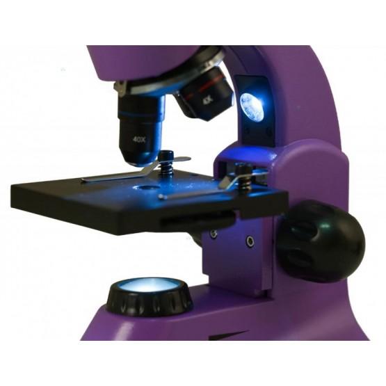 Mikroskop Levenhuk Rainbow 50L Plus Amethyst\Fioletowy M1