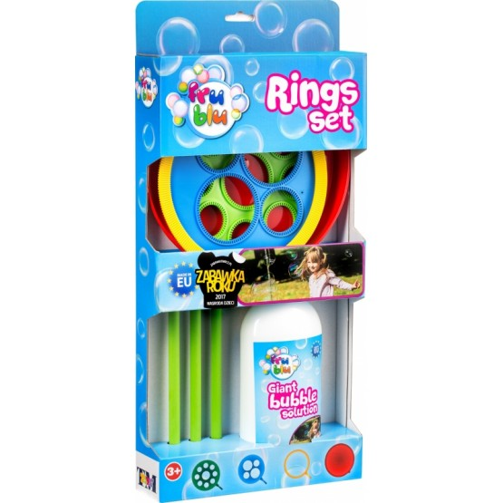 FRU BLU RINGS SET OBRĘCZE PLUS PŁYN 500ML REKLAMA TV