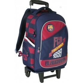 PLECAK ZE STELAŻEM NA KÓŁKACH FC-79 BARCELONA FC BARCA FUN 4