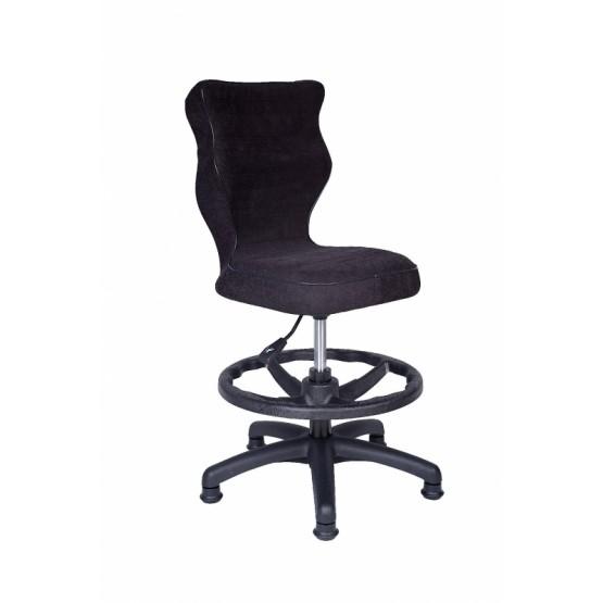 Krzesło obrotowe Alta - rozmiar 3 z podnóżkiem, czarna R1