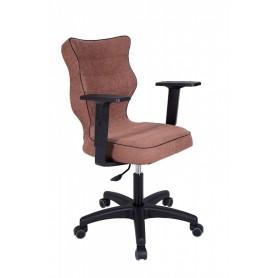 Krzesło obrotowe Alta - rozmiar 5, brązowa R1