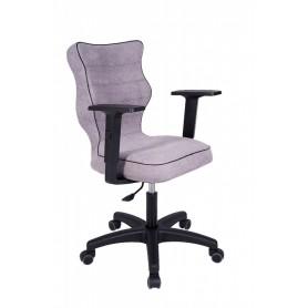 Krzesło obrotowe Alta - rozmiar 5, jasna szara R1