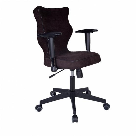 Krzesło obrotowe Alta Plus-roz. 6, czarna stelaż czarny R1