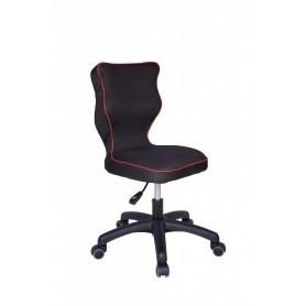 Krzesło obrotowe Rapid - rozmiar 4, lamówka czerwona R1
