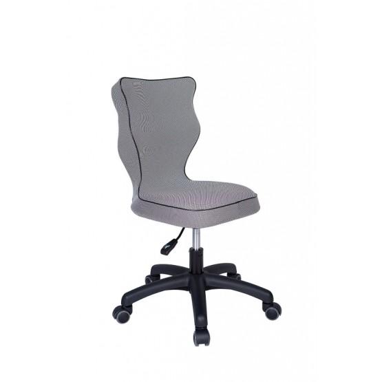 Krzesło obrotowe Luka - rozmiar 4, lamówka czarna R1
