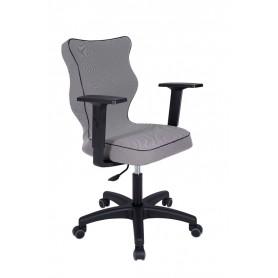 Krzesło obrotowe Luka - rozmiar 5, lamówka czarna R1